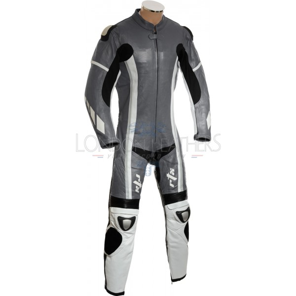 RTX Speedblock Grey One Piece Race Leathers