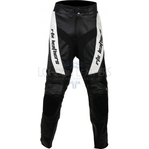 RTX Violator Black Pro Biker Leather Trouser