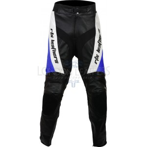 RTX Violator Blue Pro Biker Leather Trouser