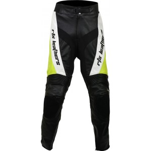 RTX Violator Floro Yellow Pro Biker Leather Trouser