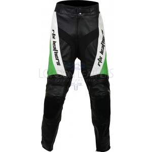 RTX Violator Green Pro Biker Leather Trouser