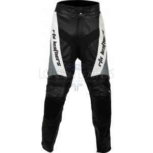 RTX Violator Grey Pro Biker Leather Trouser