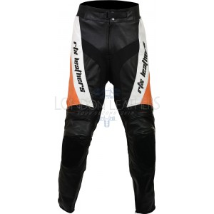 RTX Violator Orange Pro Biker Leather Trouser