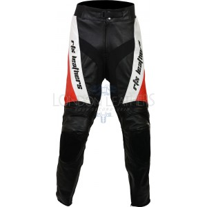 RTX Violator Red Pro Biker Leather Trouser Pant