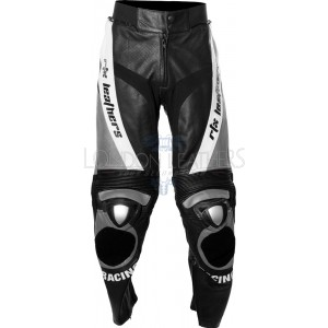 RTX GREY Aero Evo Leather Biker Trouser Pant
