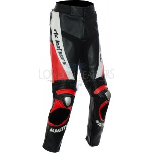 RTX RED Aero Evo Leather Biker Trouser Pant