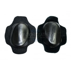 Plain Black Knee Sliders (Pair)