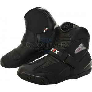 RTX Dyno Tex Protective Motorcycle Short Boots
