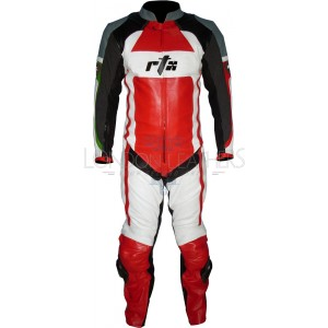 RTX Tri-Colour Special Edition Leather Biker Suit