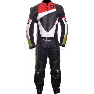 RTX Duke Corse Road & Race Leather Motorcycle Suit