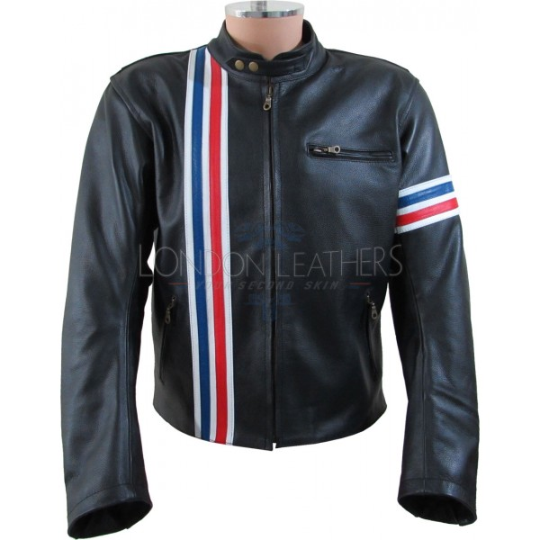 Easy Rider Peter Fonda Armoured Biker Jacket