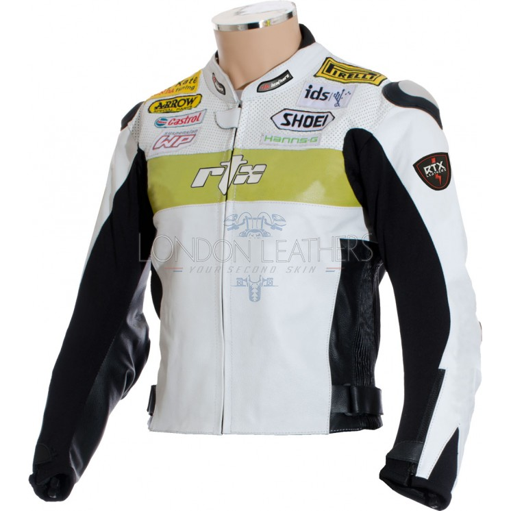 Hannspree Logo: RTX Hannspree WSB Replica Motorcycle Jacket