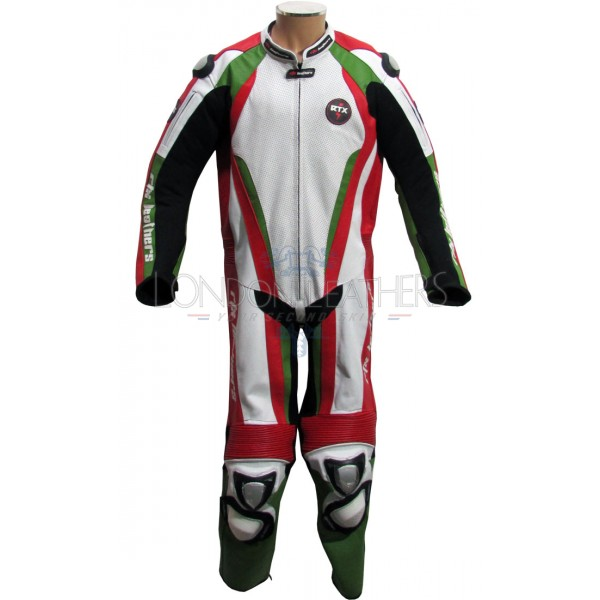 Elite Italia Perforated Front Race Leathers