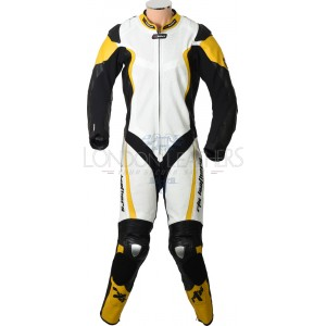 SALE - RTX Katana Yellow Kangaroo 1Pc Race Leathers