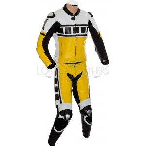 Kenny Roberts Leguna Seca Yellow 2Pc Biker Suit
