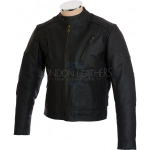 Premier Cruiser Class Matt Leather Motorcycle Jacket