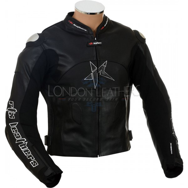 RTX Panther Black Motorcycle Jacket