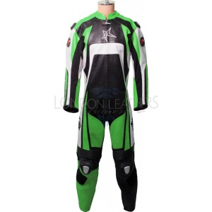 RTX KTM Pro Green Motorcycle Leather Suit