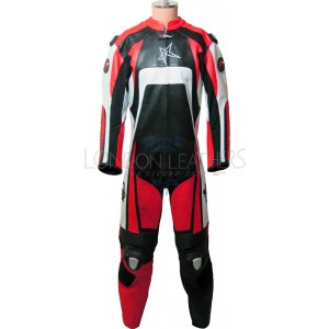 RTX KTM Pro Red Motorcycle Leather Biker Suit