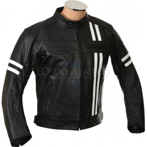 SALE - RTX Retro Black Leather Jacket