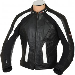 RTX Sports Cruiser Black Biker Leather Jacket - SALE