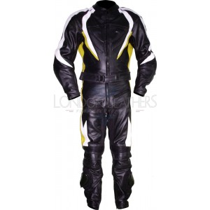 RTX Transformer Yellow Pro Leather Motorcycle Suit