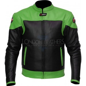 RTX Venom Leather Biker Jacket - 7 Trims Option