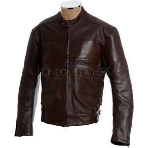 SALE - Harley Brown Cruiser Soft Leather Biker Jacket