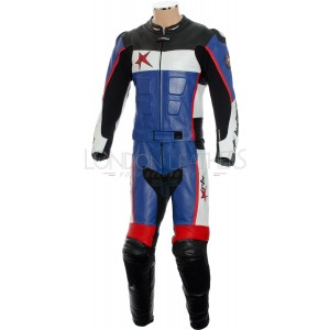 SALE - RTX GP Tech Race Sports Leather Two Piece Motorcycle Suit