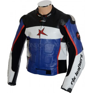 SALE - RTX GP Tech Racer Sports Biker Leather Jacket