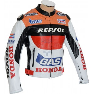 SALE - Honda Repsol Gas Leather Motorcycle Jacket