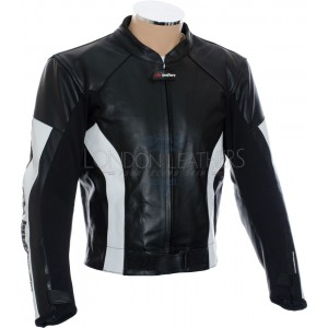 SALE - RTX Silver Blade Pro Leather Motorcycle Jacket