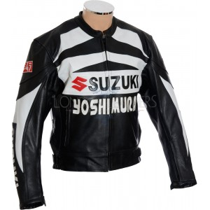 Sale - Suzuki Yoshimura Hayabusa Motorcycle Leather Jacket - L