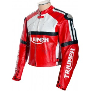 SALE - Triumph Classic Leather Motorcycle Jacket