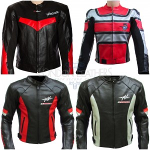 Custom Made MV AGUSTA Leather Motorbike Jacket