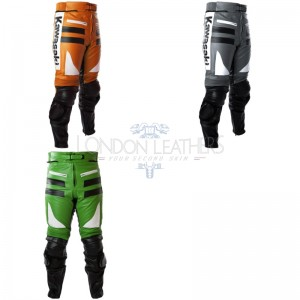 Custom Built Kawasaki Leather Trouser
