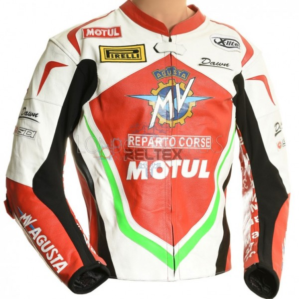 MV Agusta SBK Race Rep Special Edition Leather Biker Jacket