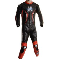 MV Agusta Corse Classic Race Replica Motorcycle Leather Suit
