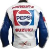 Kevin Schwantz Pepsi Sports Replica Leather Biker Jacket