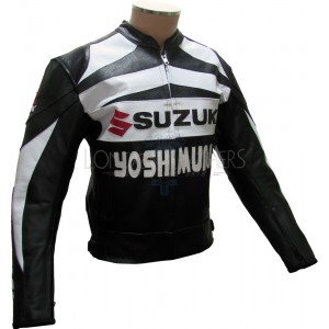 Suzuki GSXR Yoshimura Edition Leather Biker Jacket