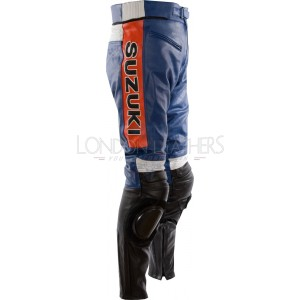 Suzuki Classic Leather Motorcycle Trouser