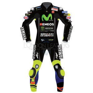 Yamaha MOVISTAR MotoGP The Doctor Black Race Leathers