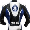 YZF Super Sport Yamaha Blue Motorcycle Leather Biker Suit