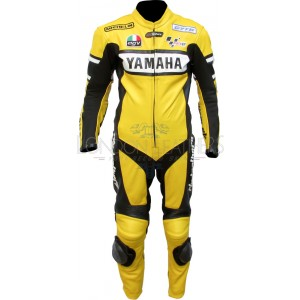 WGP Yamaha Yellow Rossi 46 One Piece Race Leathers