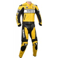 Yamaha Yellow Rossi 46 Edition Leather Suit