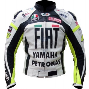 FIAT Yamaha Valentino Rossi 46 Leather Jacket