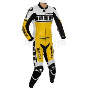 Kenny Roberts Leguna Seca Yellow Yamaha 2Pc Suit
