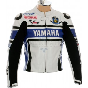 WGP Edition Yamaha Blue Motorcycle Jacket