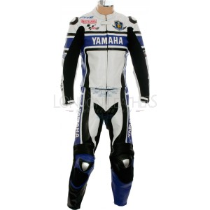 WGP 50th Anniversary Blue Edition Yamaha Leather Suit