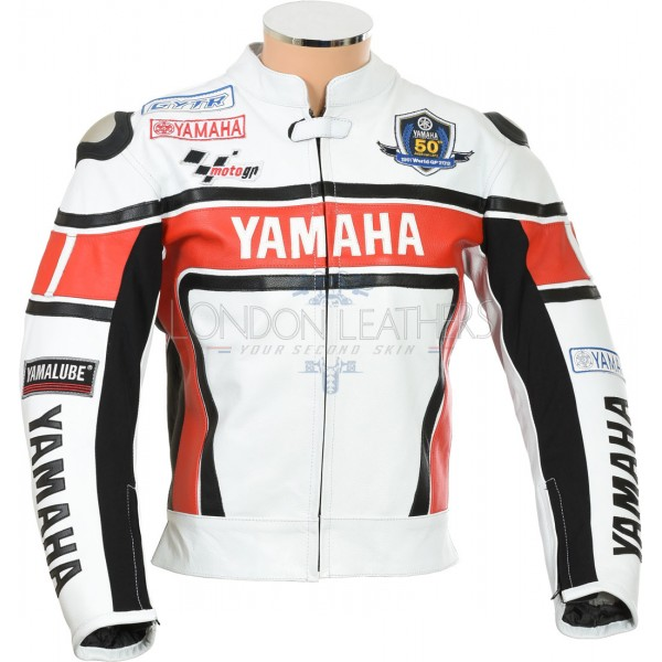 WGP Yamaha 50th Anniversary Edition Biker Jacket